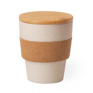 Tasse bambou personnalisé