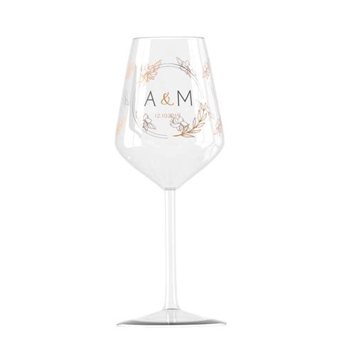 Verre à vin en verre Cabernet personnalisé